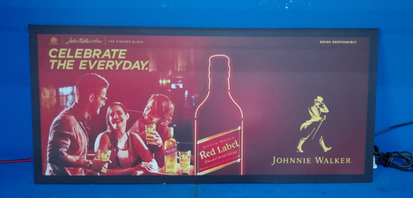 LED Flashing Sign-JOHNNIE WALKER Case