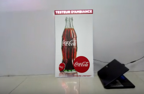 LED Flashing Sign-CocaCola Case-Sound Sensor